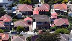 ***FILE IMAGE*** ABS data from the Survey of Income and Housing 2017?18 on Australian housing occupancy, costs and affordability is set to be released today.*** An aerial image shows houses located in the New South Wales suburb of Balmoral (foreground) in the New South Wales city of Sydney, Sunday, 17 February 2019. (AAP Image/Sam Mooy) NO ARCHIVING, EDITORIAL USE ONLY