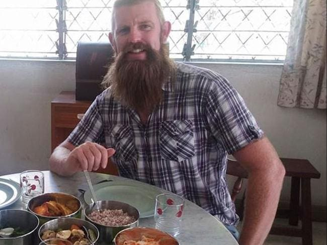 Mr Broadhurst works as a diving instructor as well as owning homestays with his wife.
