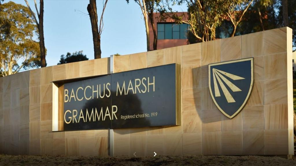 A teacher at Bacchus Marsh Grammar has tested positive to Covid-19.