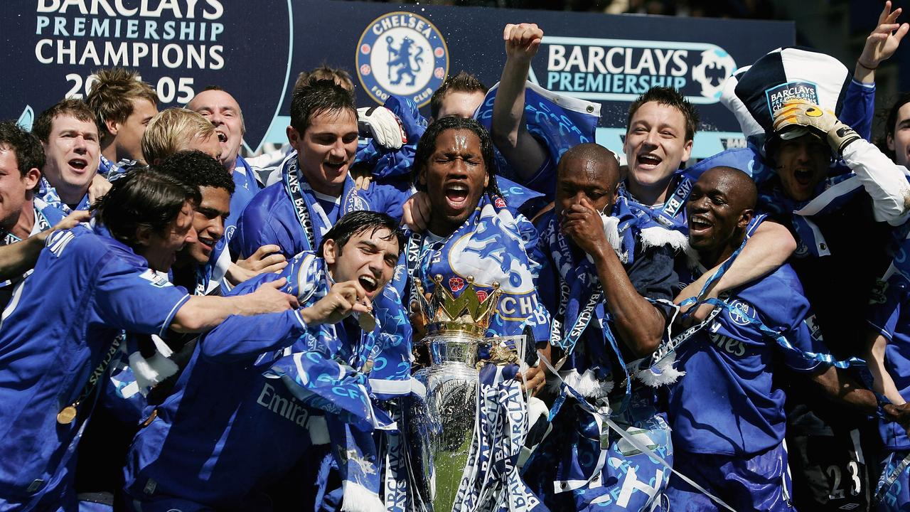 Jose Mourinho's first Chelsea side were world beaters.