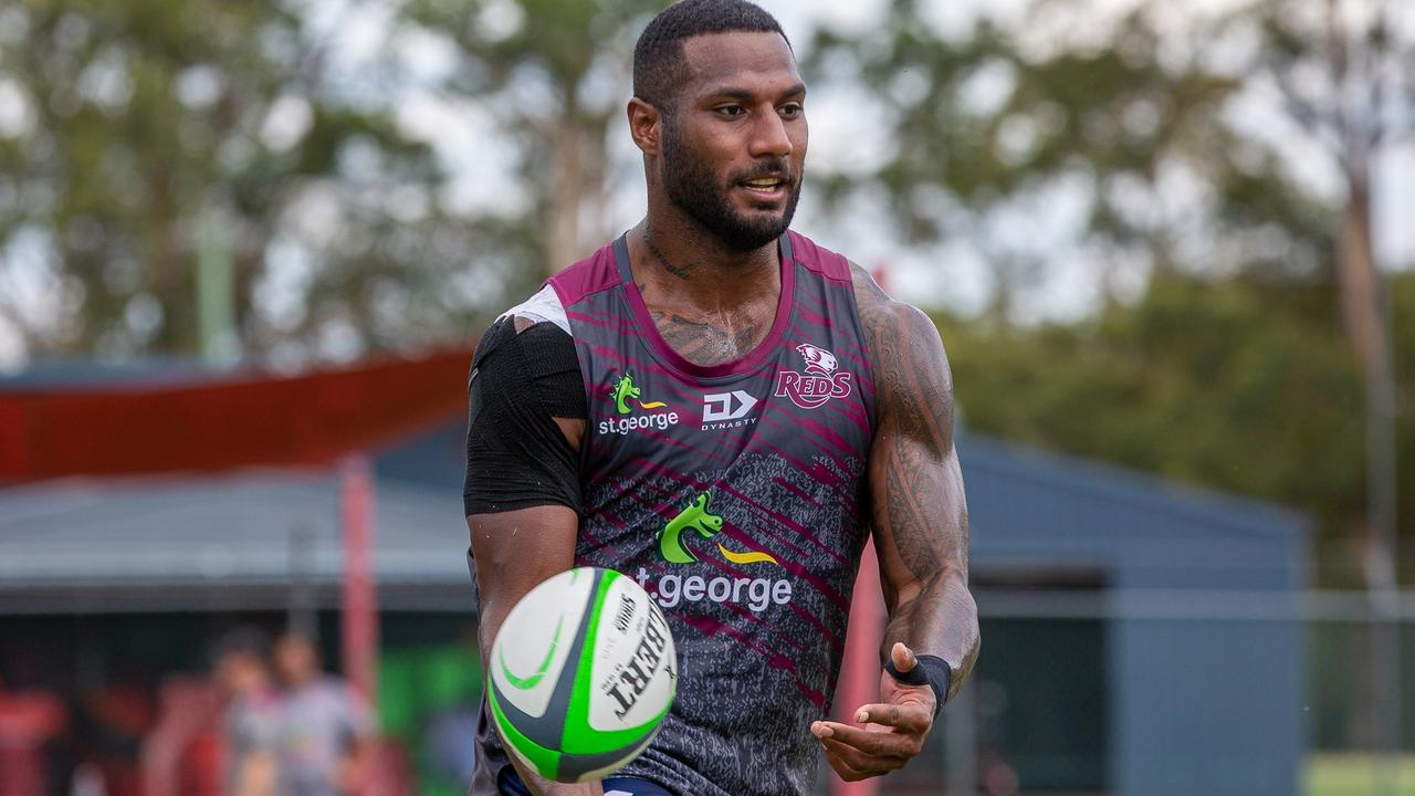Queensland Reds recruit Suliasi Vunivalu has been stood down by the club Picture Tom Mitchell/QRU
