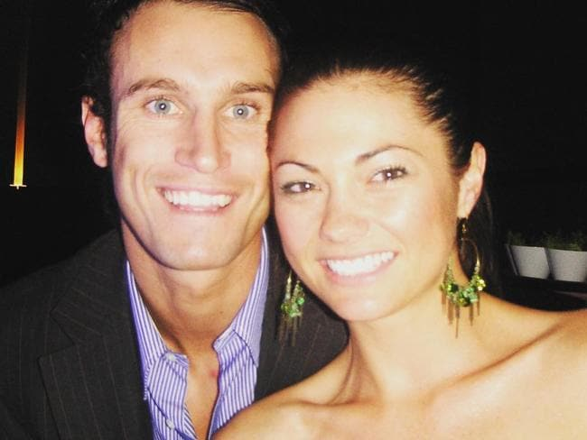 Fitzy with his wife Belinda experienced heartbreak in their first year of married life together.