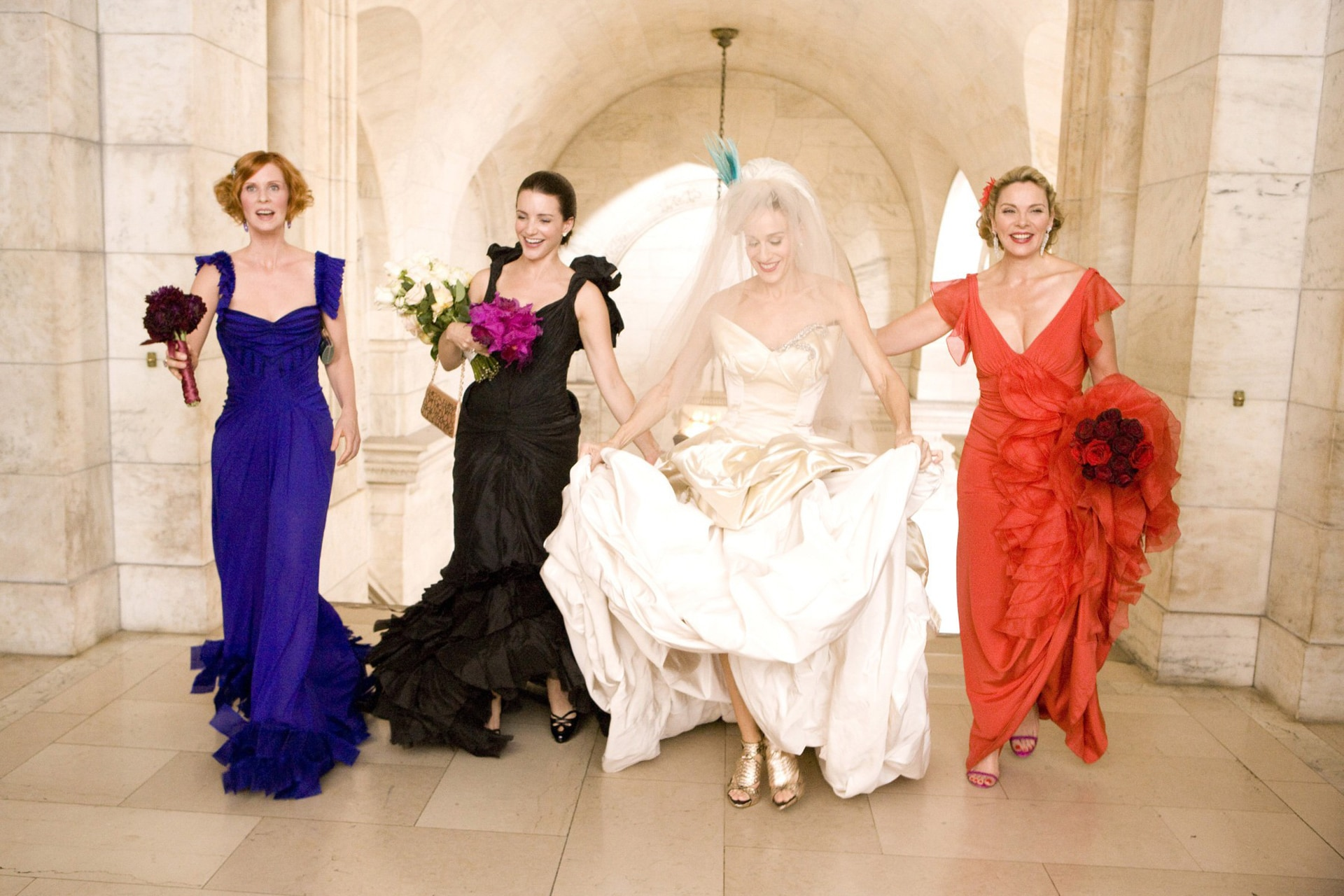 The most memorable wedding dresses to ever appear on screen