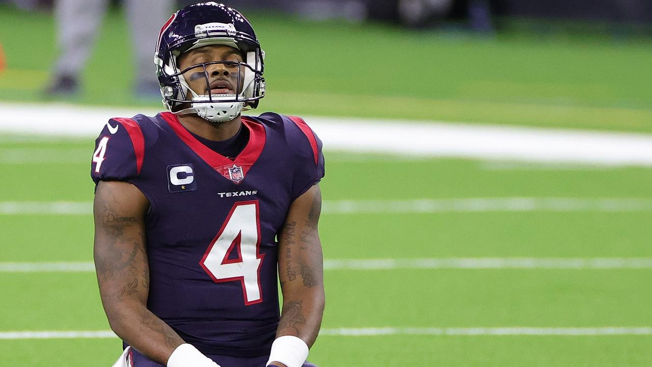 Deshaun Watson is one of many QBs who could be on the move. Carmen Mandato/Getty Images/AFP