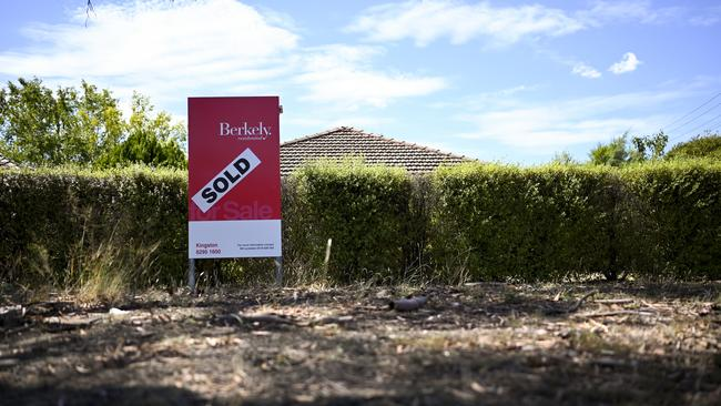 First homebuyer activity in NSW has bounced back from historic lows seen during the property price boom. Picture: AAP