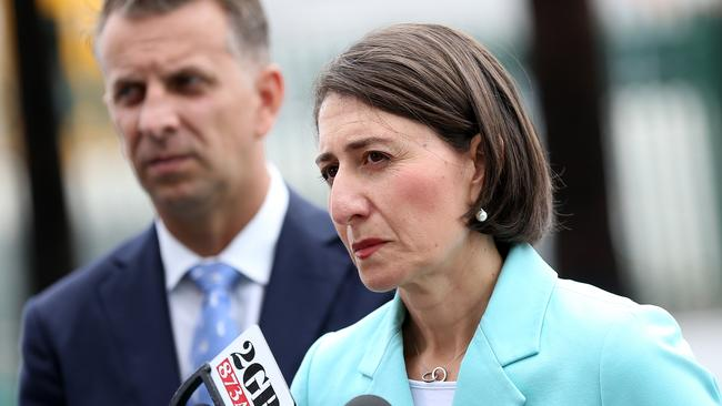 Premier Gladys Berejiklian has also voiced concern on immigration. Picture: Toby Zerna