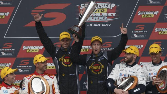 David Reynolds and Luke Youlden were winners at Bathurst in 2017.