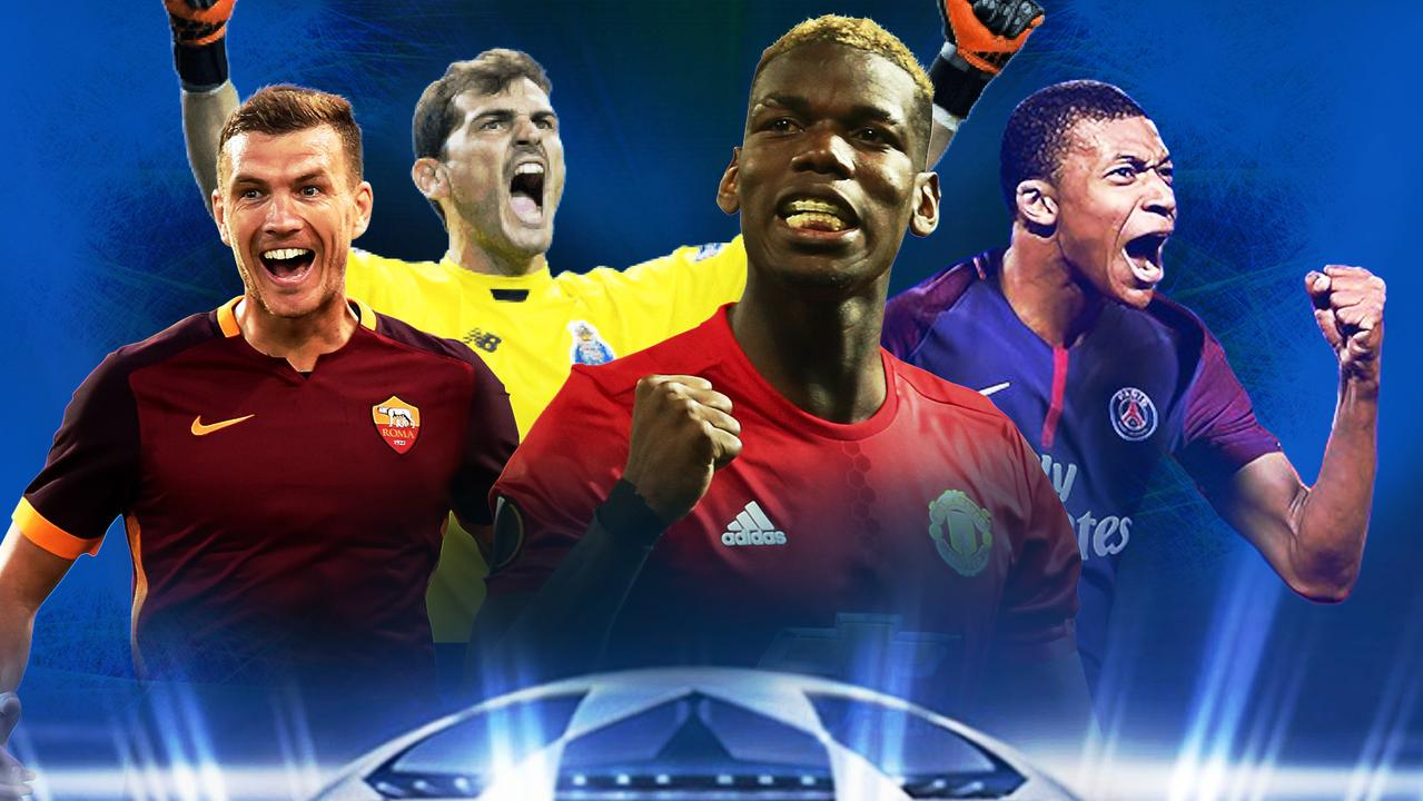 The Champions League returns on Wednesday morning