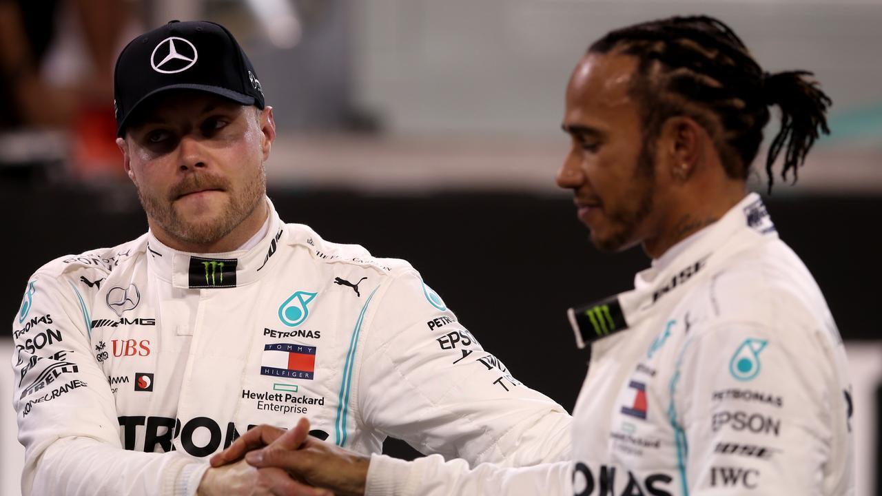 Hamilton got the better of Bottas in Abu Dhabi qualifying.
