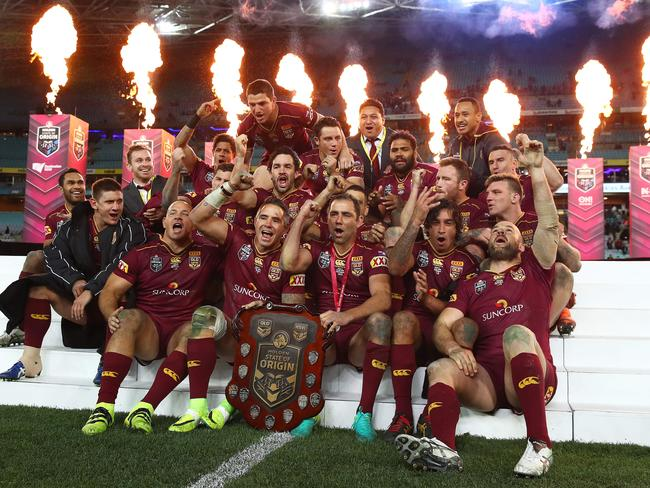 The Origin series has become big business for the NRL.
