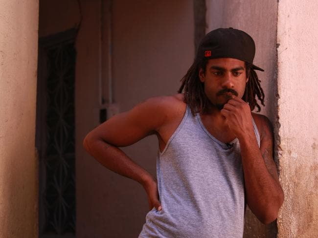 Heritier Lumumba, in Fair Game, the SBS documentary he was promoting on The Project. Picture: SBS