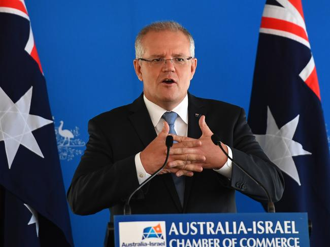 Wacky Church Under Fire Over Miracle >> Prime Minister Scott Morrison Preaching Politics From