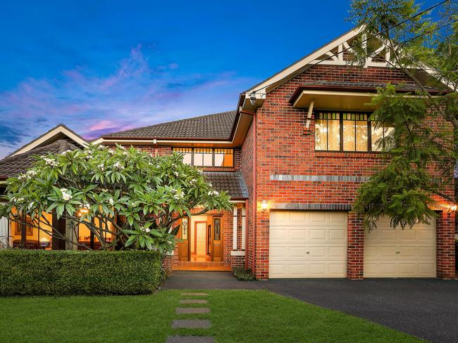 The huge home was popular with buyers.