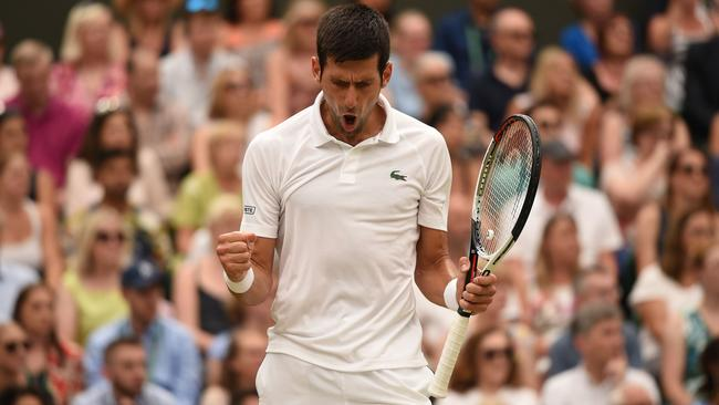 Novak Djokovic has downed Rafael Nadal to reach the Wimbledon final.