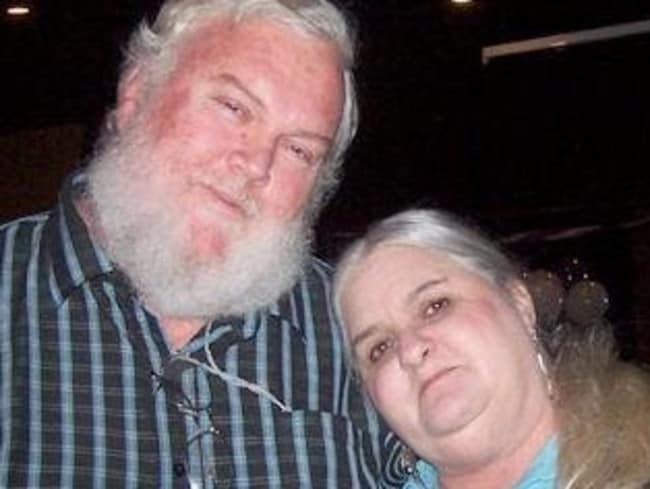 Paul and M'Lynn before he passed away.