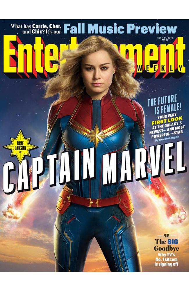 EW cover with Captain Marvel