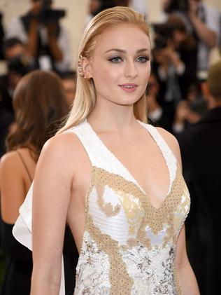 Sophie Turner who plays Sansa Stark was absent from the awards. Picture: Getty