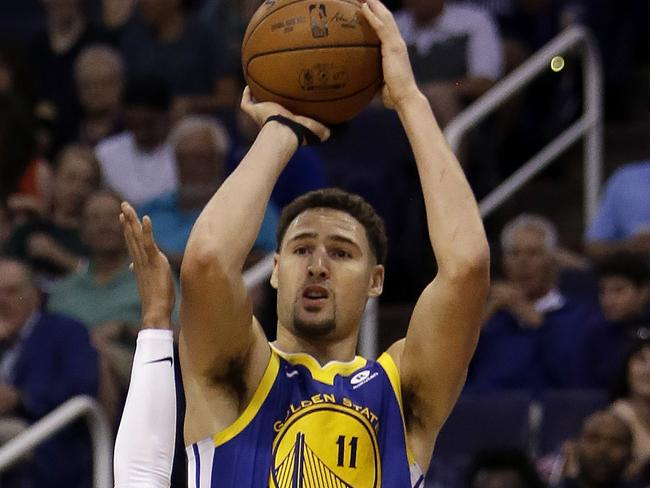 Klay Thompson was in fine form.