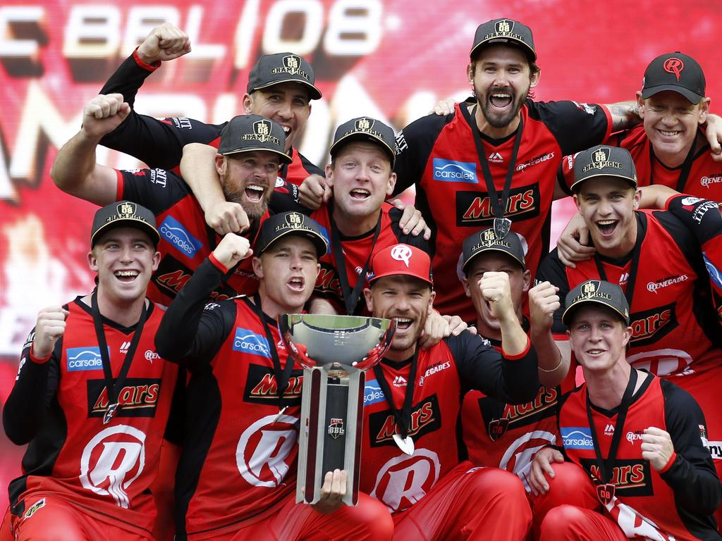 Congrats to Melbourne Renegades, the BBL|08 champs