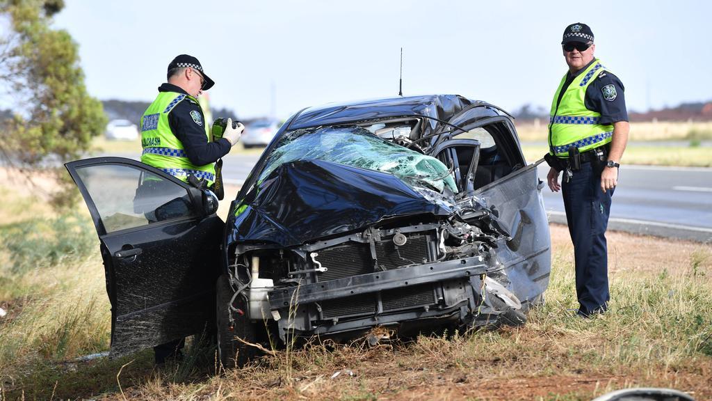 Serious crashes at Waterloo Corner and Wigley Flat