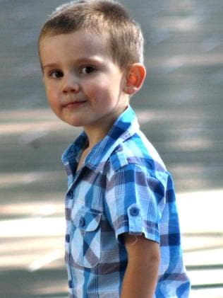 William Tyrrell was three years old when he went missing. Picture: AAP Image/NSW Police