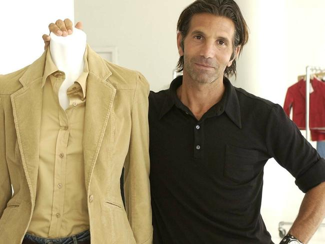 Los-Angeles based clothing designer Mossimo Giannulli. Picture: AP