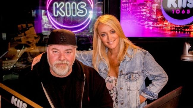 Kyle Sandilands and Jackie O. Image: KIIS FM