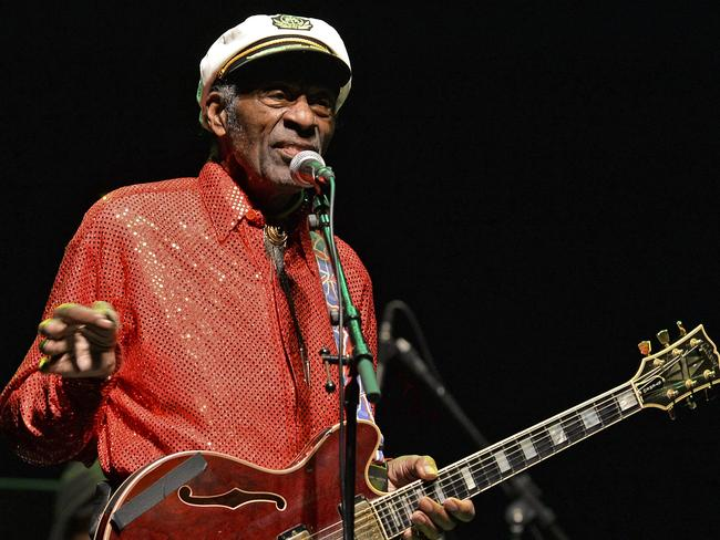 Musical genius Chuck Berry, one of rock n'roll's architects, had a dark side.