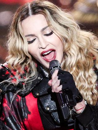 Madonna, pictured at the Bell Centre, Quebec, on September 9, has always known how to cause a stir. Picture: Rich Fury / Invision / AP