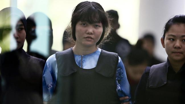 Vietnamese Doan Thi Huong says she was set up.
