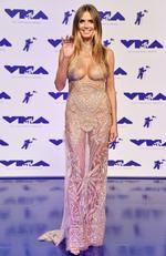Heidi Klum attends the 2017 MTV Video Music Awards at The Forum on August 27, 2017 in Inglewood, California. Picture: Getty