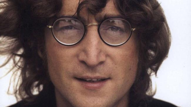 English singer, songwriter and peace activist John Lennon.
