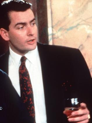 Charlie Sheen in 1987 film Wall Street. Picture: Supplied