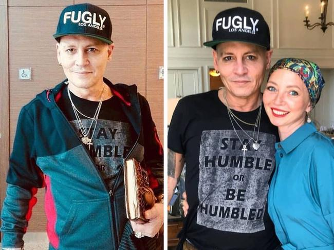 Concerns were sparked after fans posted these images of the actor to Instagram during a meet and greet in Russia. Picture: Instagram