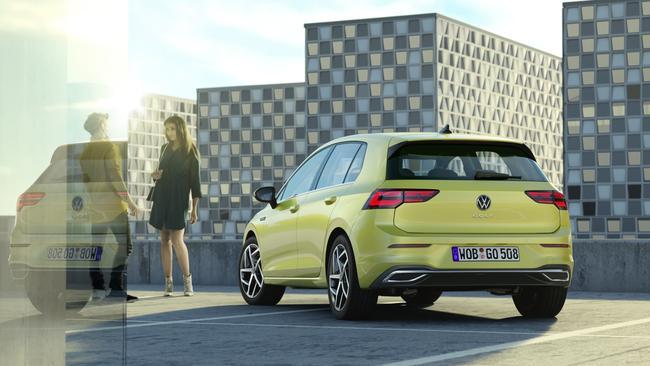 Volkswagen's Golf 8 goes on sale in 2020.