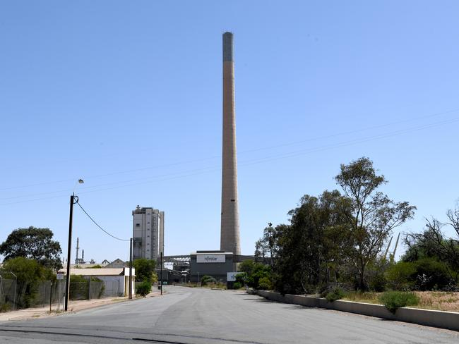 The smelter in Port Pirie, which Sh*t Towns of Australia poked fun at. Picture: Tricia Watkinson