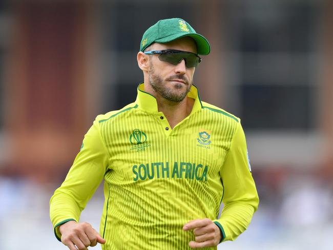 It was a disappointing tournament for Faf's men.