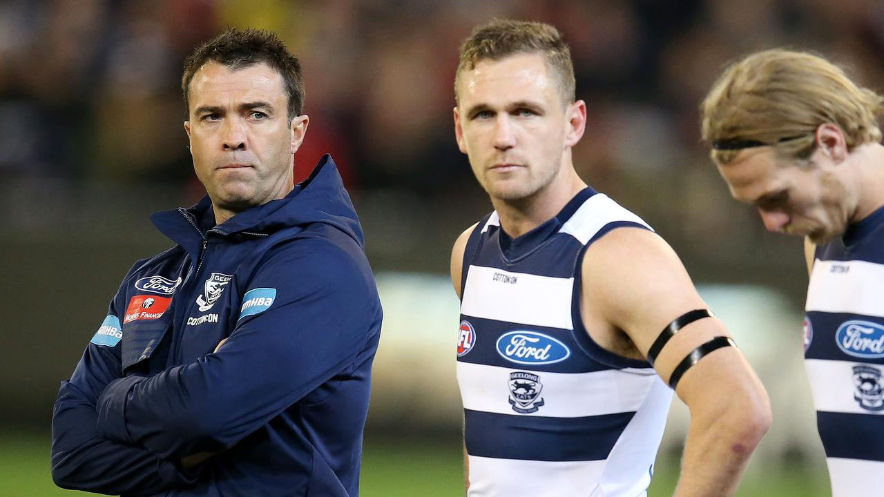 Geelong has been bundled out of finals. Photo: Michael Klein