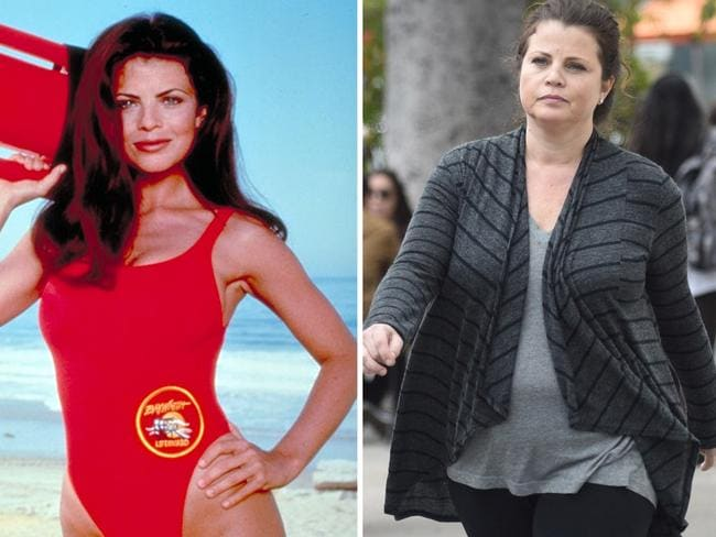 Yasmine Bleeth has had some troubles since hanging up her red swimsuit. Picture: Supplied