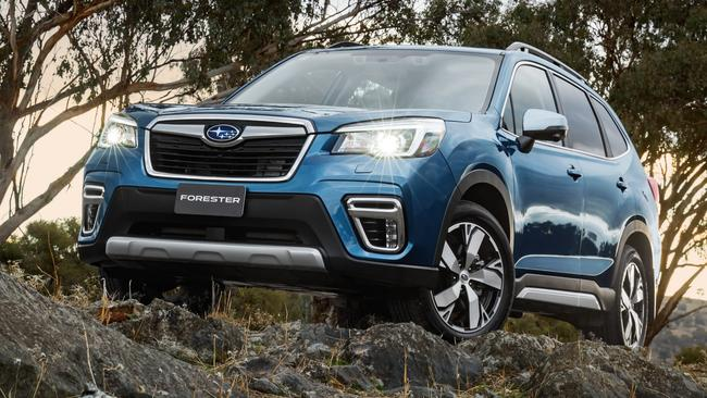 Subaru has maintained the Forester's boxy styling. Picture: Supplied.