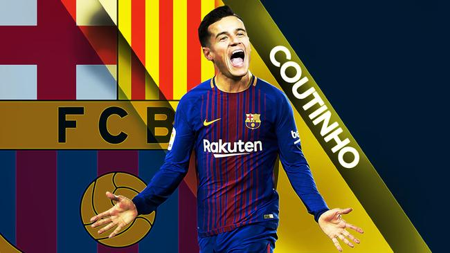 How does he look? Philippe Coutinho in Barcelona colours.
