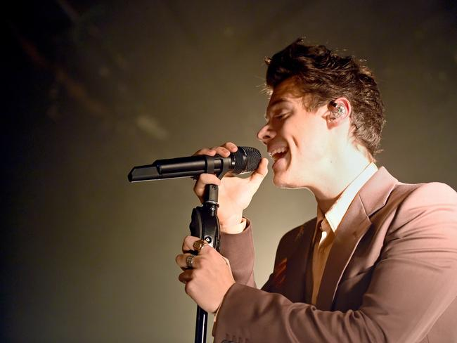 Harry Styles performs songs from his new album. Photo: Getty