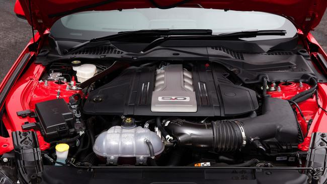 The big V8 is what the Mustang is all about.
