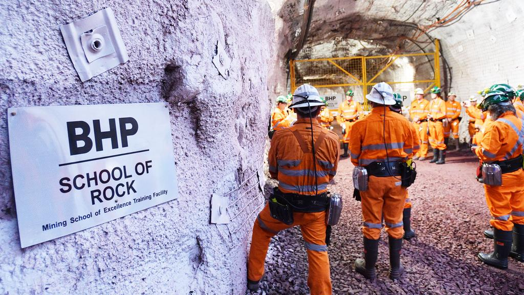 The Queensland and West Australian governments have received the most funding from BHP compared with any other state economy. Picture: David Mariuz/ AAP.