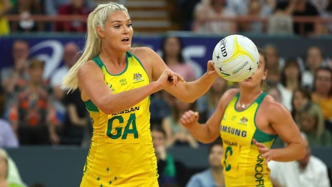 Gretel Tippett and the Diamonds are bracing for a tough game against the Kiwis.