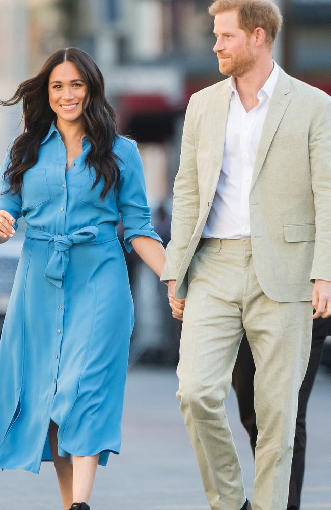 Meghan admitted she was struggling in the candid interview. Picture: Samir Hussein/WireImage.