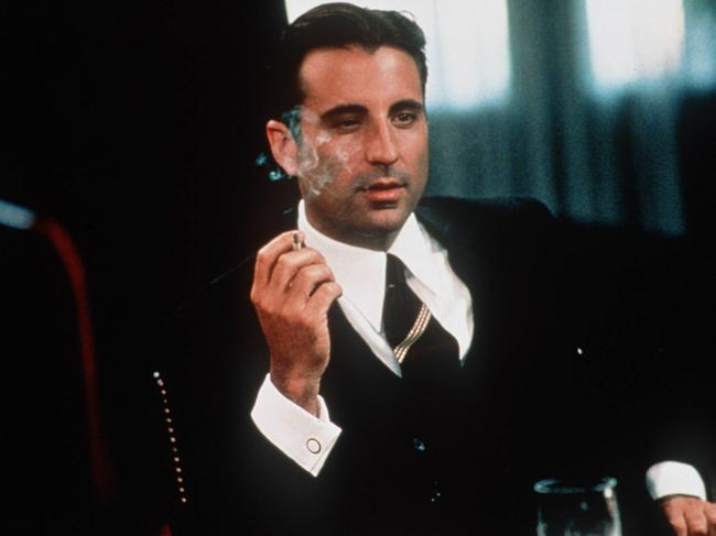 Actor Andy Garcia as Lucky Luciano in the movie Hoodlum. Picture: Supplied