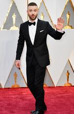 Actor/singer Justin Timberlake attends the 89th Annual Academy Award. Picture: Frazer Harrison/Getty Images
