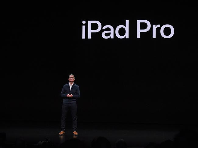 Apple has sold 400 million iPads worldwide. Picture: Getty Images/AFP