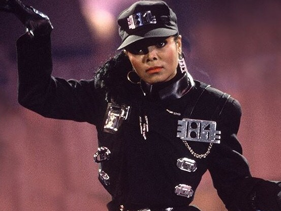 Janet Jackson performing Rhythm Nation. Picture: Supplied